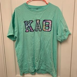 Kappa Alpha Theta stitch shirt